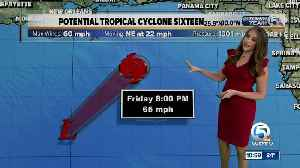 11 a.m. Friday advisory on Potential Tropical Cyclone 16 [Video]