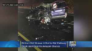 19-Year-Old Woman Killed In BW Parkway Crash Identified As Amayah Charles [Video]