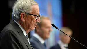 News video: 'A grave historic error': Juncker hits out as North Macedonia and Albania have EU bids blocked