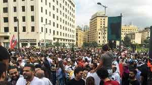 News video: Lebanon protests: Thousands demand 'fall of the regime' in Beirut
