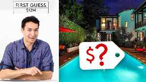 Amateurs & Experts Guess How Much an LA Mansion On Sunset Blvd Costs [Video]