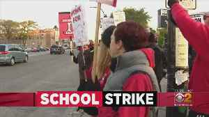 News video: Chicago Teachers Continue Strike For Second Day