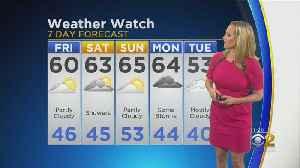 CBS 2 Weather Watch (11AM, Oct. 18, 2019) [Video]