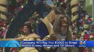 Company To People To Binge Watch Disney Movies On New Streaming Service [Video]