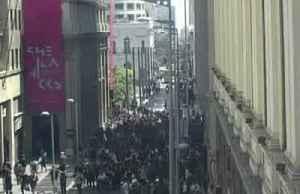Chilean students ambush metro stations to protest fare hikes [Video]