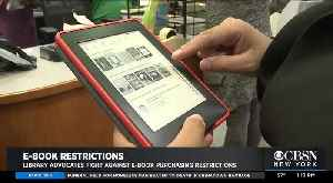 Publisher Restricts E Book Access At Libraries [Video]