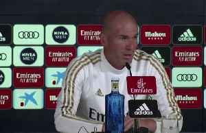 News video: Zidane not worried about Clasico postponement, says he doesn't like violence