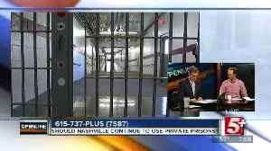 Should Nashville put an end to using Private Prisons? p1 [Video]