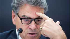 Energy Secretary Rick Perry Is Resigning