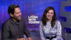 Paul Rudd, Aisling Bea Talk 'Living With Yourself' [Video]