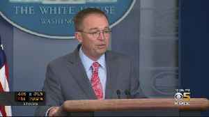 White House Goes Into Damage Control Mode After Chief Of Staff's Comments On Ukraine [Video]