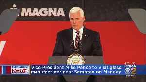 Mike Pence To Visit Pa. [Video]
