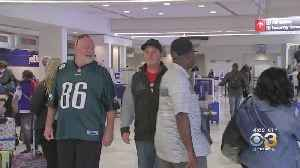 Eagles Fans Flocking To Dallas For Birds' Big Game Against Cowboys [Video]