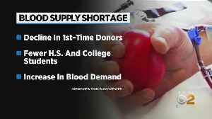 Blood Donors Needed In New York [Video]
