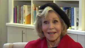 News video: Fonda: I want to be as brave as little Greta