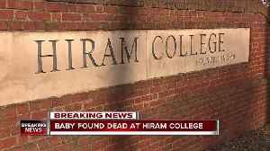 Baby found dead in dorm bathroom at Hiram College [Video]