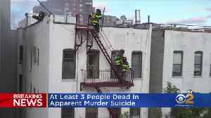 At Least 3 Dead In Apparent Murder-Suicide In Harlem [Video]
