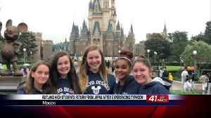 Rutland High students are back home after stuck in Japan from typhoon [Video]