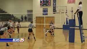 High School Volleyball: Ocean Springs vs. Gulfport [Video]