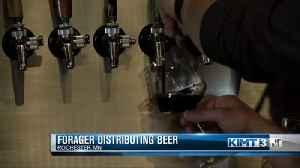 Forager distributing beer [Video]