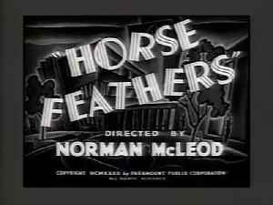Horse Feathers movie (1932) [Video]
