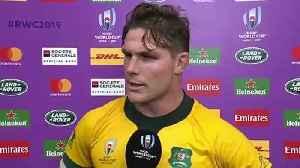 Michael Hooper reacts to Australia's Quarter-Final defeat [Video]