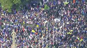People's Vote march reaches Parliament Square [Video]