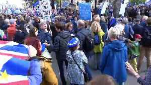 People's Vote marchers sing 'Jerusalem' in Parliament Square [Video]