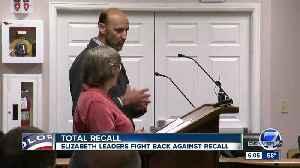 Elizabeth mayor, trustees facing recall after concerns over development [Video]