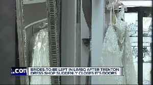 Social media post from Trenton bridal shop sends brides into panic mode [Video]