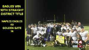 Eagles win 10th district title [Video]