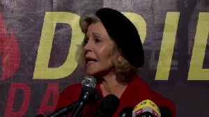 Jane Fonda promises 'disruptive' climate protest [Video]