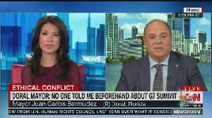 Doral Mayor Juan Carlos Bermudez On G-7 Summit [Video]
