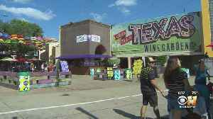 State Fair of Texas' Wine Garden Offers Spot For Visitors To Cool Off, Relax [Video]