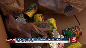 News video: Tennessee Titans food drop collects food for Middle Tennesseans in need