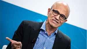 News video: Microsoft CEO Satya Nadella Gets High Raise