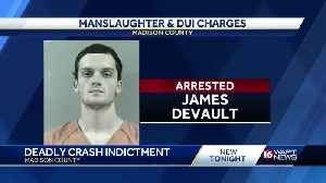 Man charged in motorcycle crash [Video]