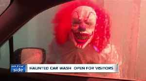 Northeast Ohio's first haunted car wash opening in October [Video]