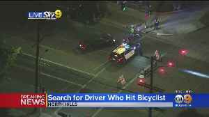 Police Search For Driver Who Hit Bicyclist In North Hills [Video]