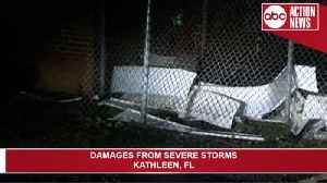 Severe weather damages Polk County [Video]