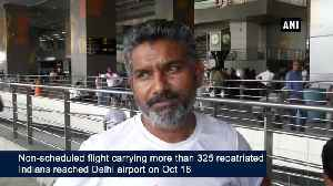 More than 325 Indians deported by Mexico arrive in New Delhi [Video]