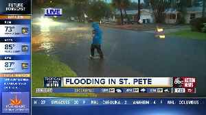 Tropical Storm Nestor causes flooding in St. Pete's Shore Acres [Video]