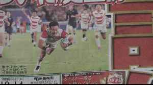 News video: 'Brave' new world as Japanese rugby blossoms