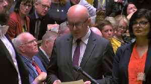 MPs vote to delay approval of Brexit deal