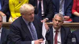 Boris Johnson On MPs Backing Letwin Amendment [Video]