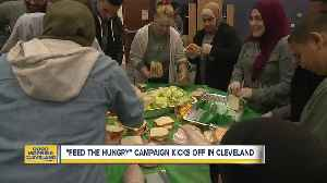"""Local Muslims come together to """"Feed the Hungry"""" [Video]"""