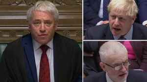Brexit: How did MPs vote to delay Boris Johnson's deal? [Video]