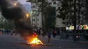 News video: Chile's president declares state of emergency in capital Santiago