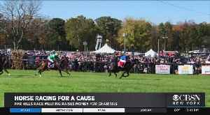 Charity Horse Racing Steeplechase In New Jersey [Video]