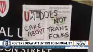 University of Wisconsin-Madison students and community responds to signs posted on campus [Video]